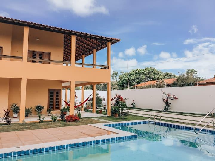 Casa de Praia em Morro Branco -Beberibe, 4 quartos