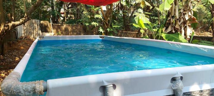 Candolim Goan-Getaway Spacious Chic Pvt Villa -WFH