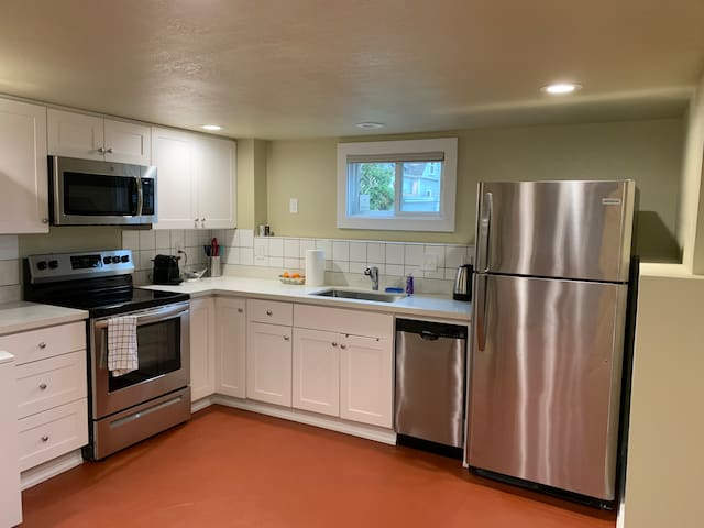 Open & Renovated Kitchen with New Appliances.