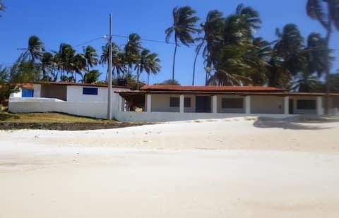 La playa en casa. Praia de Caraúbas
