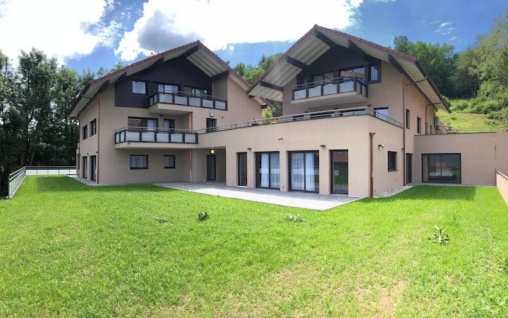 Appartement B2 Type 3 de 115 m2 Très belle Vue lac