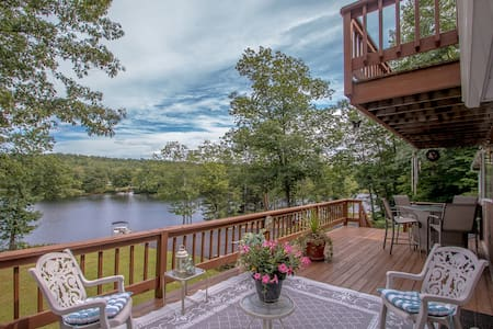 Waterfront, Private Beach Dock & 32 acre forest