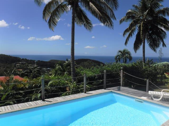 Villa Ti-Nid'Art avec vue sur mer