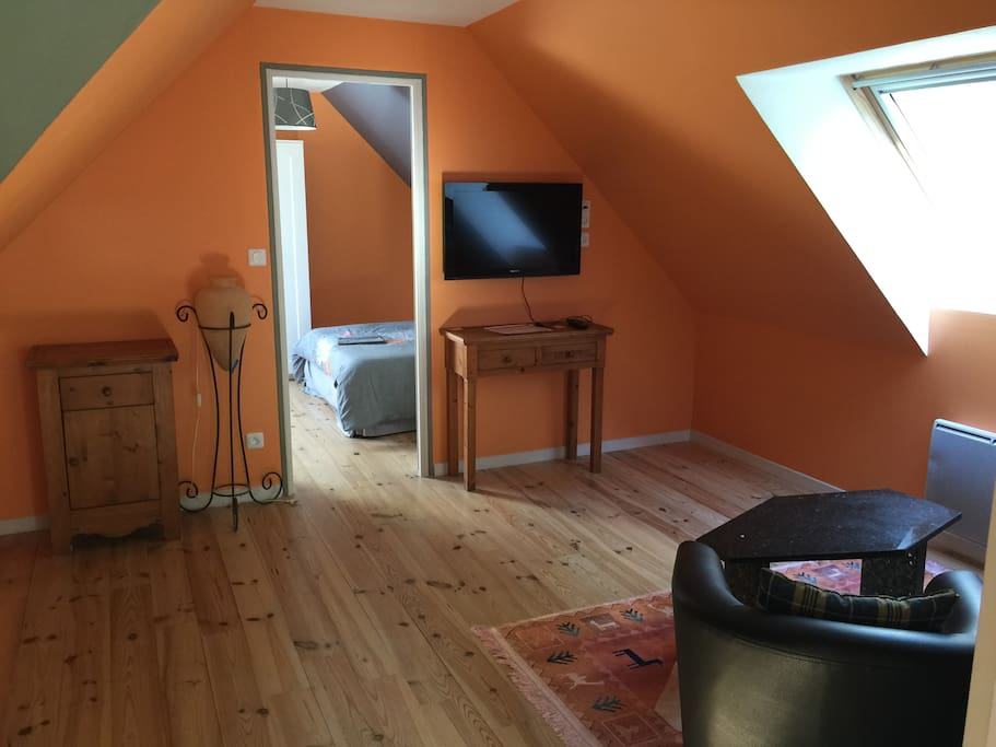 Chambre d 39 h te orange houses for rent in fort mahon for Chambre d hote fort mahon