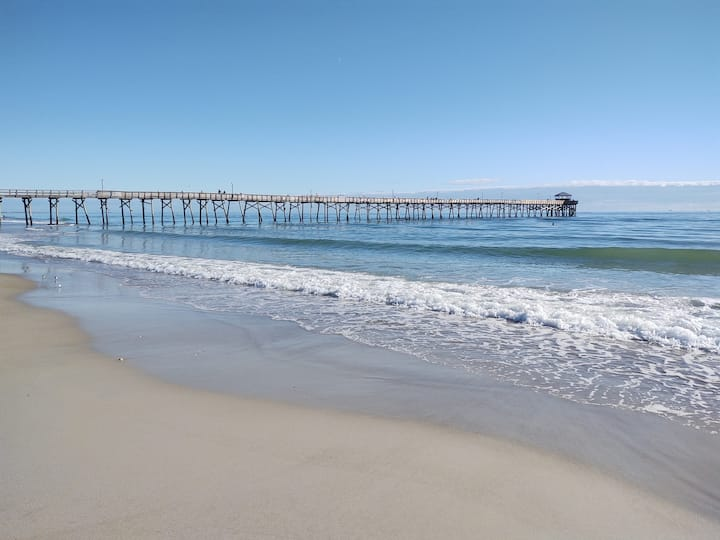 Atlantic Beach water view & 3 minute walk to beach