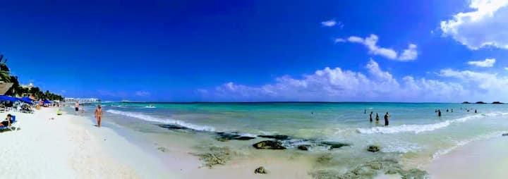 Hab Privada,  a 2 cuadras de la playa