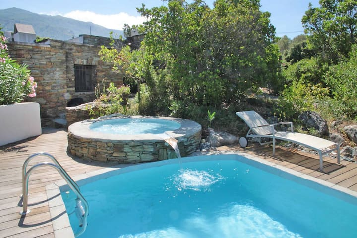 Bergerie Angelica, private pool - Oletta - Casa