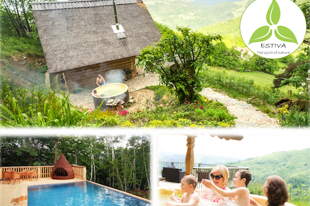 ESTIVA : Beautiful Chalet - Private Spa-Pool-View - Lapeyrugue - 단독주택