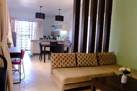 2BR, max of 6pax center of BCD Natos Resdncs 7