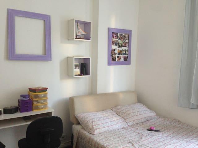 quarto confortável em Botafogo