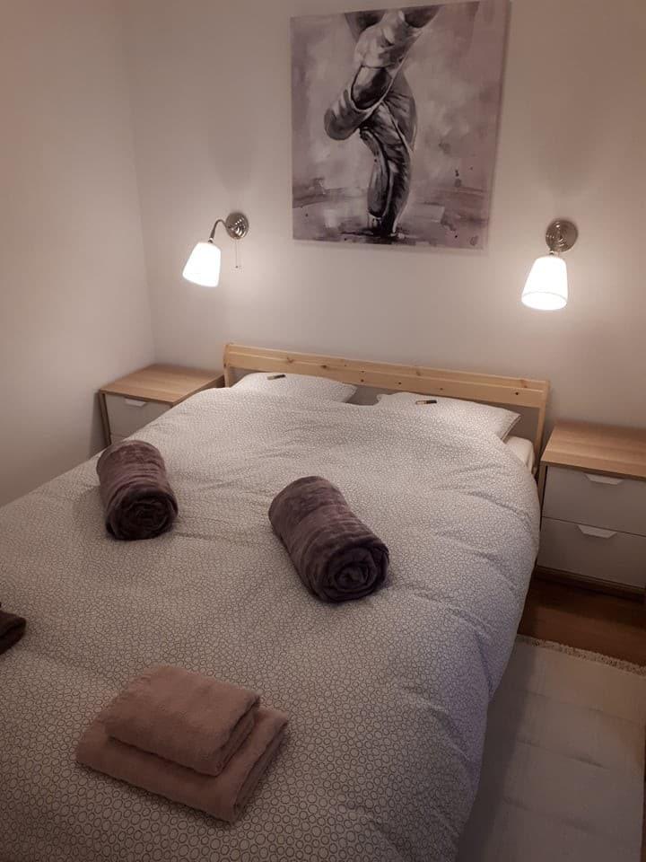Apartman Ana, soba s bračnim krevetom, centar