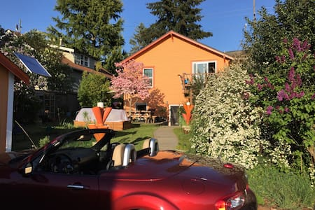 Charming Maple Leaf Garden-Level Apartment