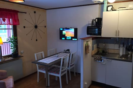 Apartment in calm area but only 12 min from Åre