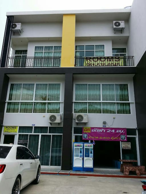 """Our building """" the blue rabbit"""", also have laundry machine & drinking water machine available"""