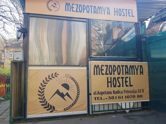 Hostel Mezopotamya Zemun, Danube, free wifi