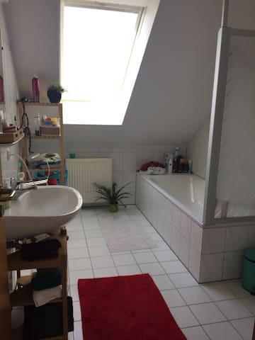 Gemütliche Dachgeschoss Wohnung - Sulzbach am Main - Appartement