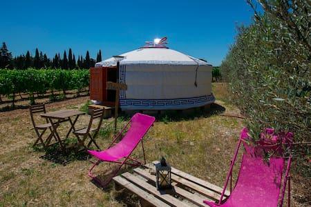 Yourte en Provence 2 pers. Campagne&détente - Sarrians
