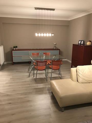 Fris gemeubeld appartement