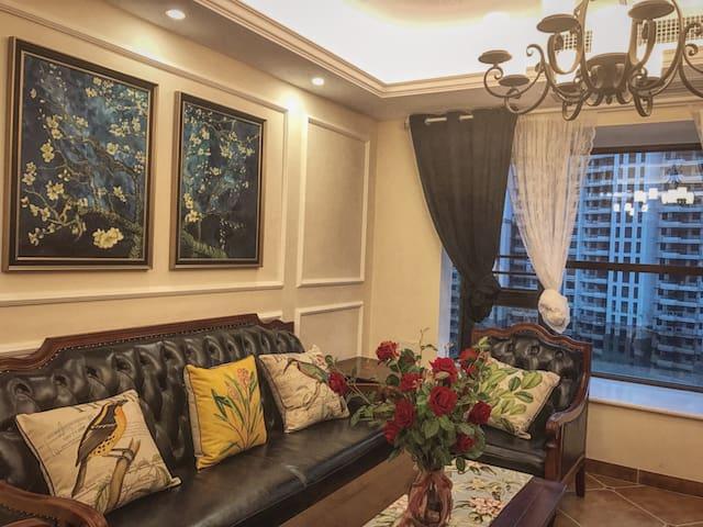 Blossom茉莉家美式复古四室两厅两卫明亮通透整套房间 - 南宁 - Casa