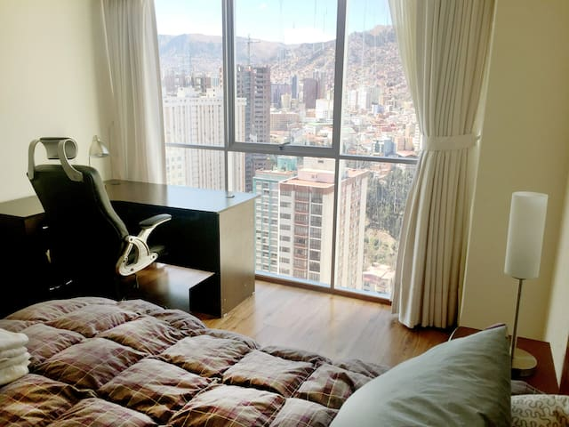 Sunny, comfortable, with the best view of La Paz - La Paz - Appartement