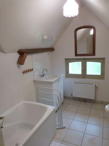 Salle de bain (1er étage)