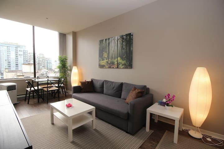 Comfortable Central Downtown Sleeps 4, w/Parking!!
