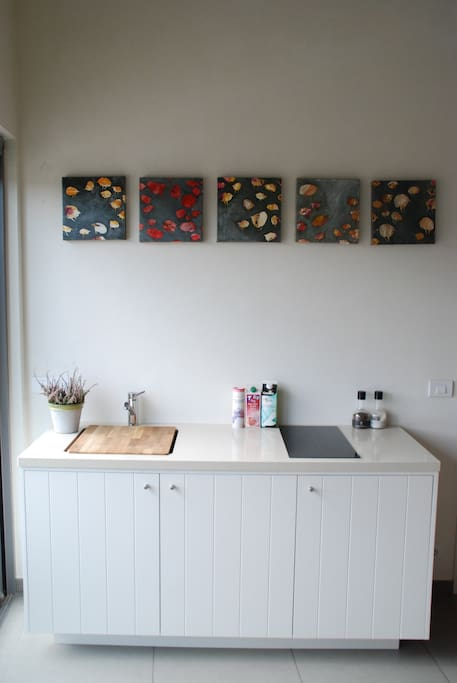 Watch out for our newly installed kitchen at your full disposal!