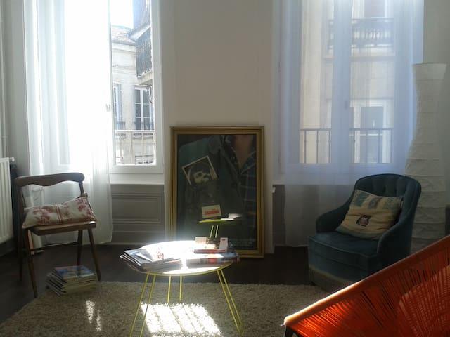 appartement calme en coeur de ville - Saint-Étienne - Apartemen