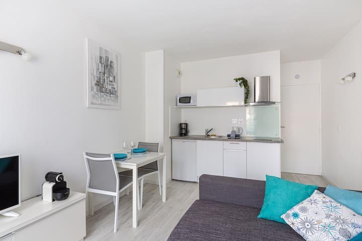 Bel appartement calme, emplacement idéal