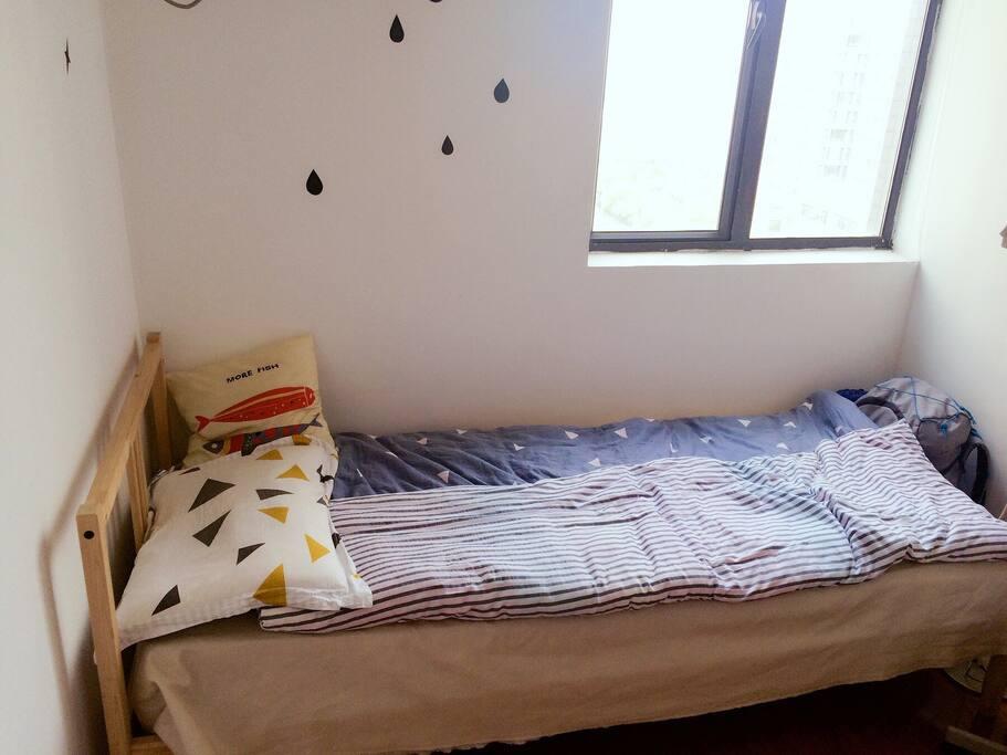 独立房间安心入睡。
