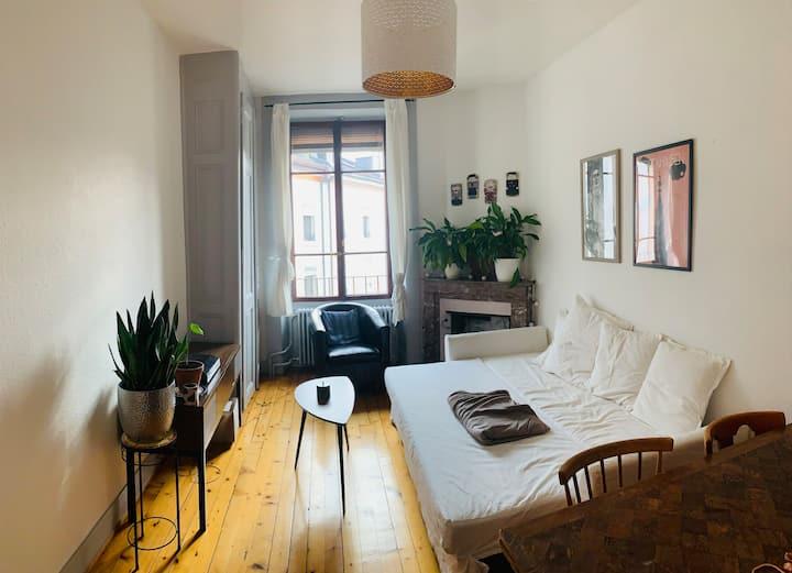 Fabulous Apartment in Heart of Paquis, Geneva