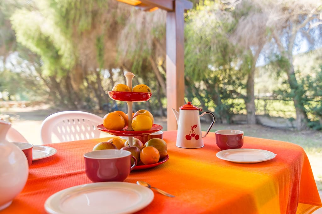 Colazione in giardino - Breakfast in the garden