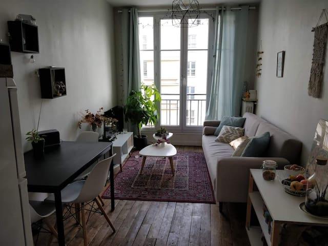 Chambre pour 2 dans logement privatif