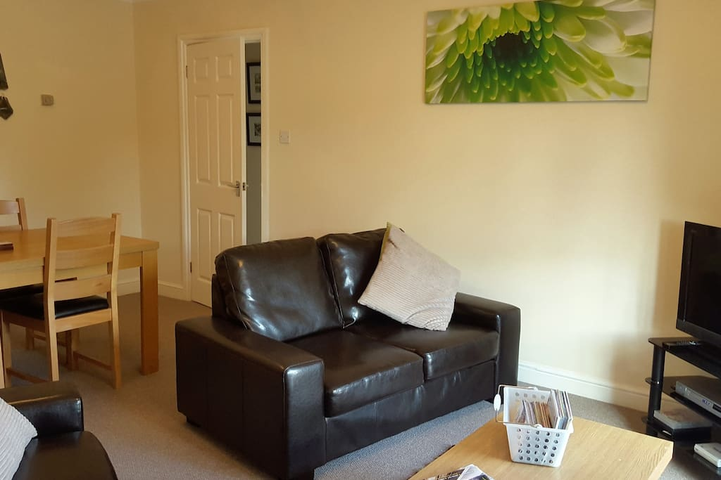 Lounge with two sofas