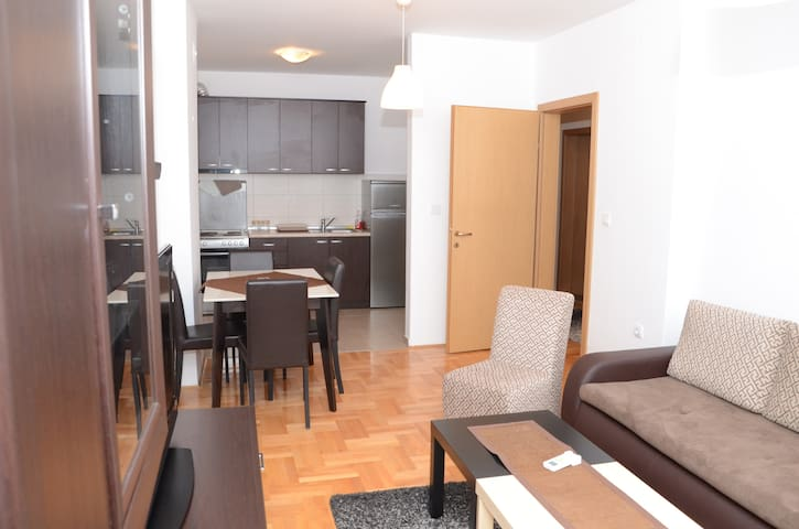 Brand new apartment in the city center
