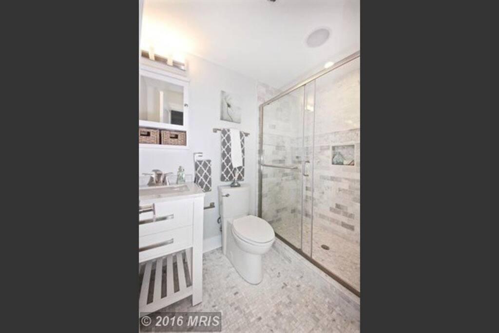 Private in-suite bathroom