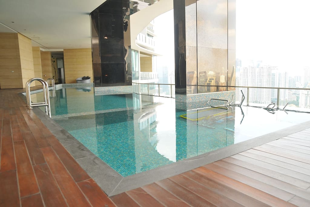 The Pool facing KLCC