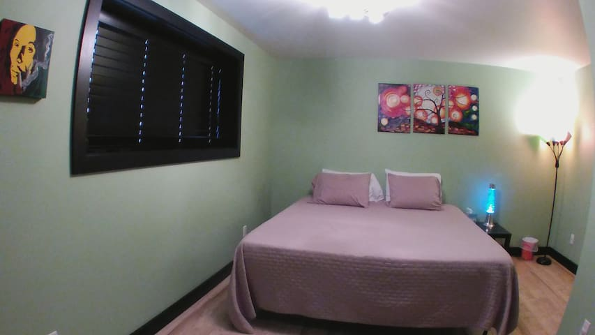 The 'Marley' room with King memory foam bed