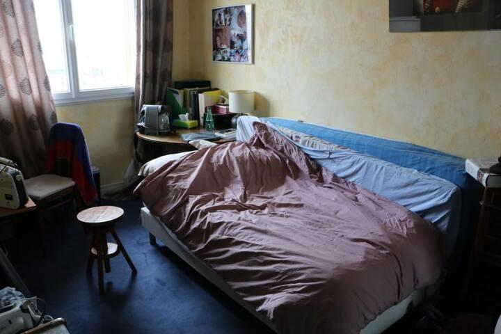 Chambre privée très confortable - Paris