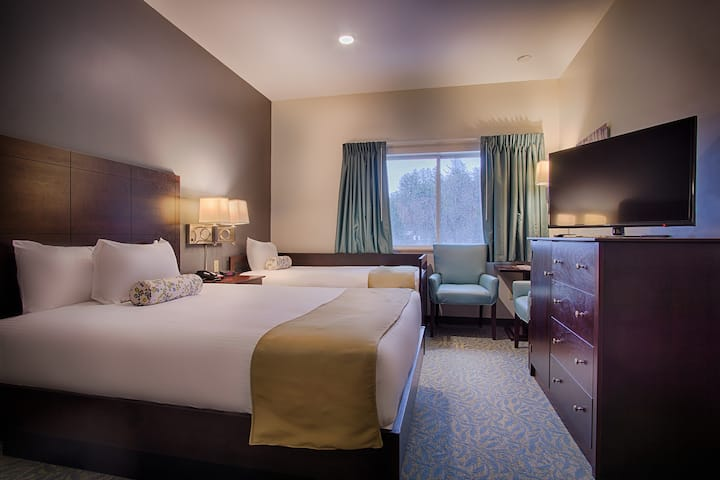 Stowe Escape Boutique Hotel Room Queen/Twin Bed
