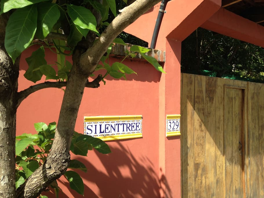 The Street Entrance