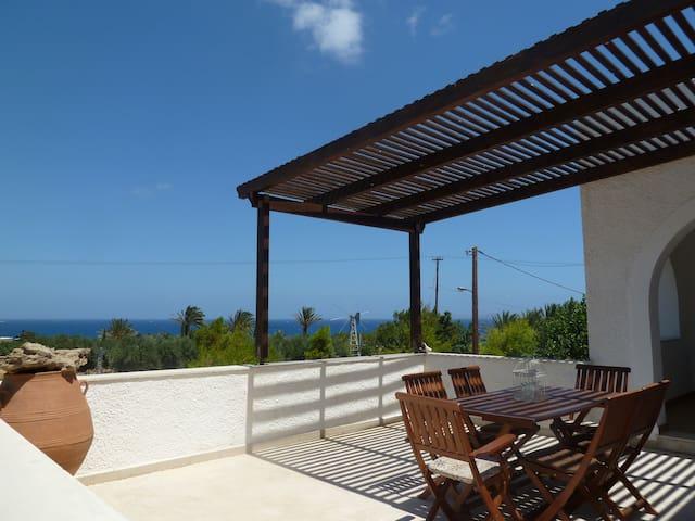 Katerina's House with Seaview Agia Fotia, Sitia