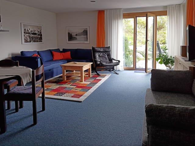 Ferienwohnung Ulrichs, (Denkingen), Ferienwohnung, 65qm, Garten, 1 Schlafzimmer, max. 5 Personen