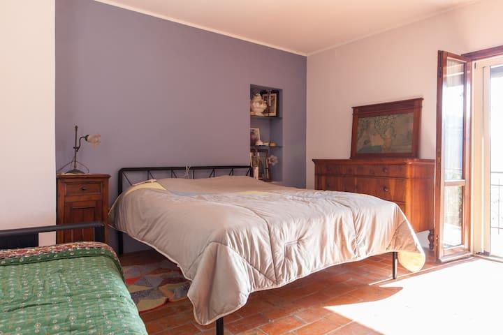 Camera matrimoniale deluxe - Pieve di Rivoschio - Casa