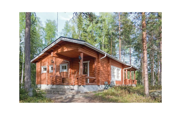 Holiday cottage with 2 bedrooms on 120m² in Ihamaniemi