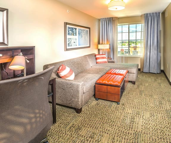 Mobility Accessible King Suite | Indoor Pool Access + Complimentary Breakfast!