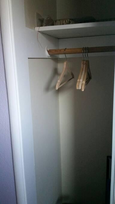 Some closet space