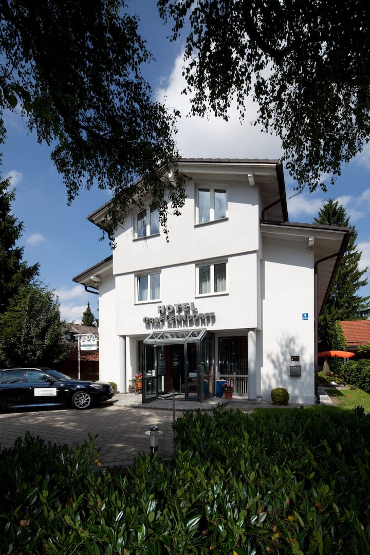 Hotel für Geschäftsreisende in ruhiger Lage
