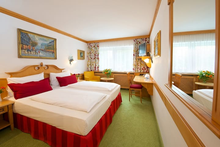 Double Room in Bavarian 4* Hotel