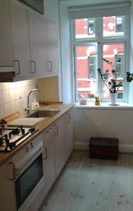 Meget unik og  hyggelig lejlighed i ålborg centrum - Aalborg - Appartement